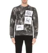 Star Wars Force For Change J.W. Anderson Tie Dye Cotton Jersey Sweatshirt Black