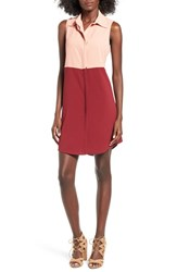 Mimi Chica Women's Sleeveless Colorblock Shift Dress
