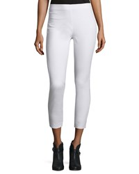 Rag And Bone Rag And Bone Simone Stretch Jersey Leggings White Size 6