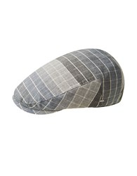 Bailey Hats Pirkis Plaid Check Newsboy Cap Overcast