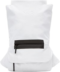 Y 3 Black And White Fs Backpack