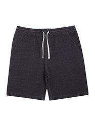 Criminal Hugo Jersey Drawstring Waist Shorts Charcoal