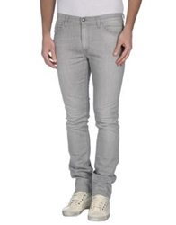 Hogan Denim Pants Grey