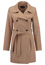 Vila Vikimra Short Coat Dusty Camel
