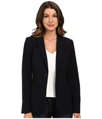 Calvin Klein 1 Button Jacket Navy Women's Jacket