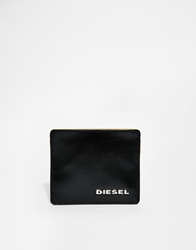 Diesel Leather Card Holder Black