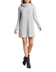 Bcbgeneration Long Sleeve Sweater Dress Grey