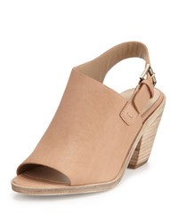 Eileen Fisher Glance Leather Slingback Sand Brown Al Sand Women's