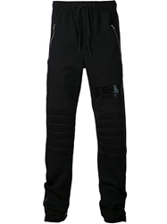 Jeremy Scott Padded Sweat Trousers Black