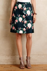 Erin Fetherston Garden Bloom Skirt Green Motif