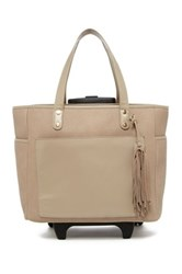 Shiraleah Porter Roller Tote Brown
