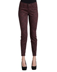 Cj By Cookie Johnson Joy Lace Print Jeans 25 4