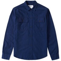 Mhl By Margaret Howell Mhl. Chore Overshirt Blue