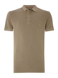 Label Lab Men's Teller Pique Polo Khaki