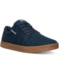 Supra Men's Stacks Ii Casual Sneakers From Finish Line Navy Gum