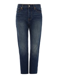 Levi's Wedgie Icon Fit Jean In Classic Tint Denim Mid Wash