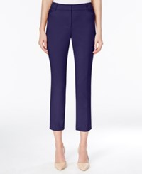 Grace Elements Slim Fit Ankle Pants Evening Blue