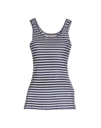 Douuod Topwear Vests Women Blue