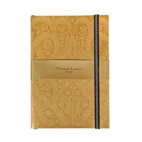 Christian Lacroix Paseo Embossed Notebook Gold A5
