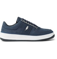 Neil Barrett City Nubuck Sneakers Blue