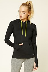 Forever 21 Active Get Moving Pullover Black Yellow