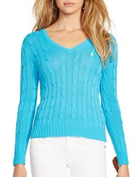 Polo Ralph Lauren Cabled V Neck Sweater