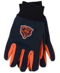 Forever Collectibles Chicago Bears Palm Gloves