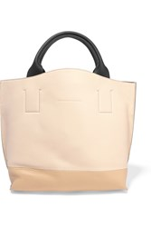 Brunello Cucinelli Textured Leather Tote White