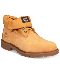 Timberland Men's Icon Basic Roll Top Waterproof Boots Men's Shoes Wheat Nubuck