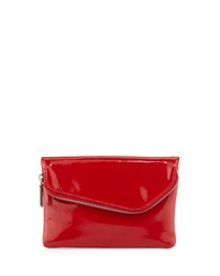 Hobo Daria Patent Leather Crossbody Bag Red