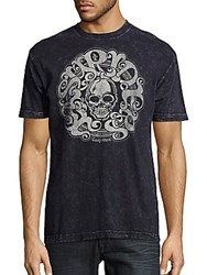 Affliction Easy Riders Graphic Print Tee Black