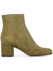 Gianvito Rossi 'Margaux' Ankle Boots Green