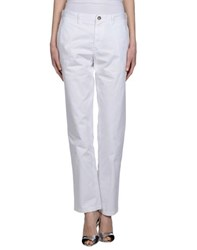 Burberry Brit Trousers Casual Trousers Women White
