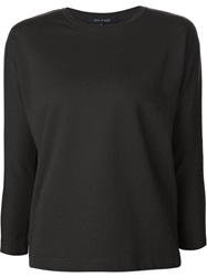 Sofie D'hoore Three Quarter Sleeve T Shirt Black