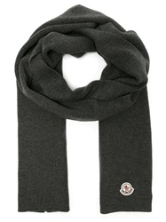 Moncler Knit Scarf Grey