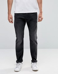 Edwin Ed 55 Tapered Jeans Ink Black Denim
