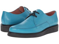 Paul Smith Nico Buffalino Turquoise Men's Lace Up Casual Shoes Blue