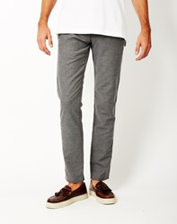 Selected Luc Trouser Grey