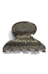 France Luxe 'Mini Couture' Jaw Clip Gold Glitter