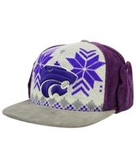 Top Of The World Kansas State Wildcats Christmas Sweater Strapback Cap