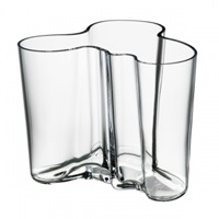 Iittala Aalto Vase 120 Mm Clear Aalto Collection Vases Decoration Finnish Design Shop