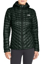 The North Face Women's 'Thermoball Tm ' Primaloft Front Zip Hooded Jacket