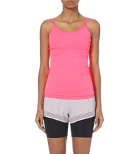 Sweaty Betty Pirouette Stretch Jersey Dance Top Lipstick Red
