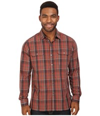Kuhl Response L S Sundried Tomato Men's Long Sleeve Button Up Red