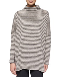 Eskandar Cashmere Blend Striped Sweater