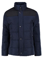 Bugatti Down Jacket Marine Dark Blue