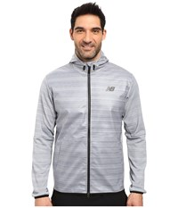 New Balance Kairosport Jacket Athletic Grey Men's Sweatshirt Gray