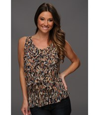 Scully Honey Creek Rita Top Multi Women's Clothing