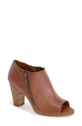 Lucky Brand 'Pabla' Open Toe Bootie Women Aztec Leather