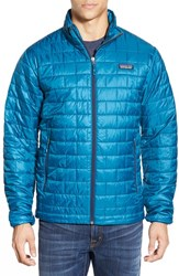 Men's Patagonia 'Nano Puff' Packable Jacket Underwater Blue